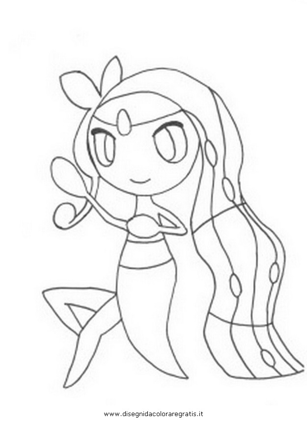 pokemon keldeo coloring pages - photo#27