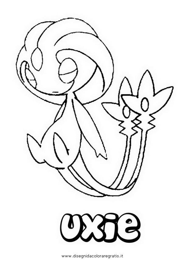 Disegno Pokemonmesprituxie Personaggio Cartone Animato Da Colorare