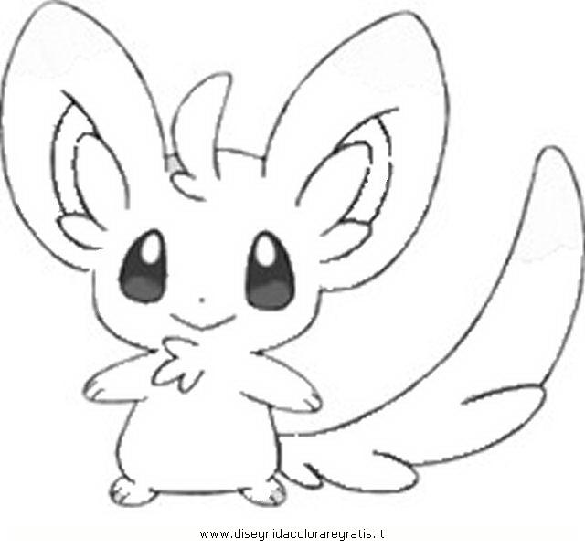 pokemon coloring pages minccino - photo#1