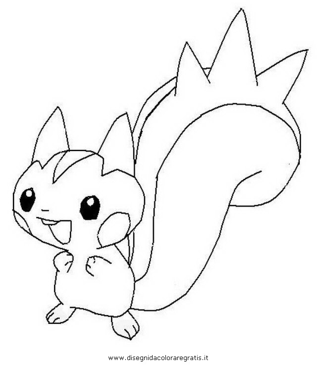 pachirisu coloring pages - photo#8