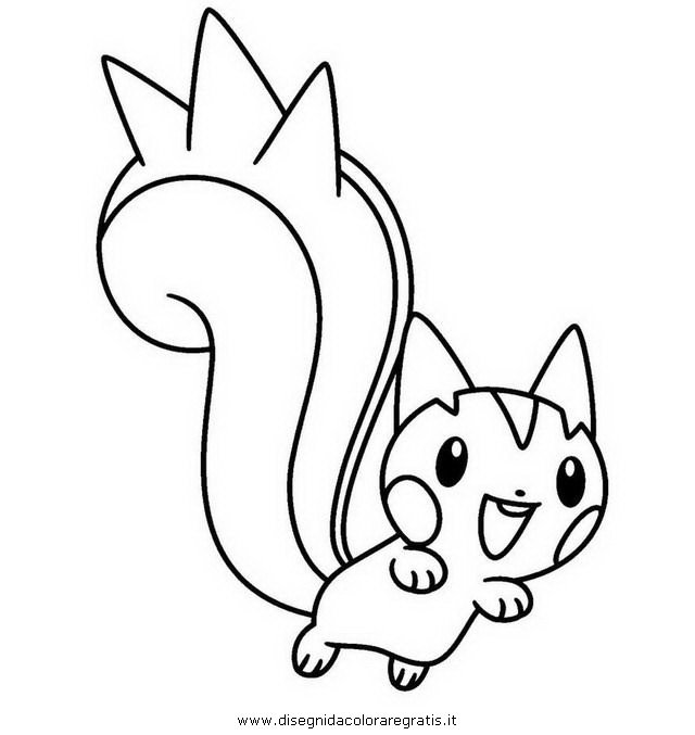 pachirisu coloring pages - photo#3