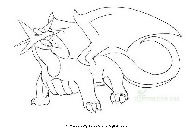 noivern coloring pages - photo#24