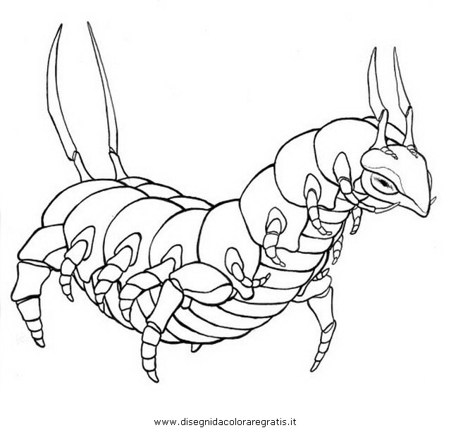 Scolipede Pokemon Coloring Pages Images