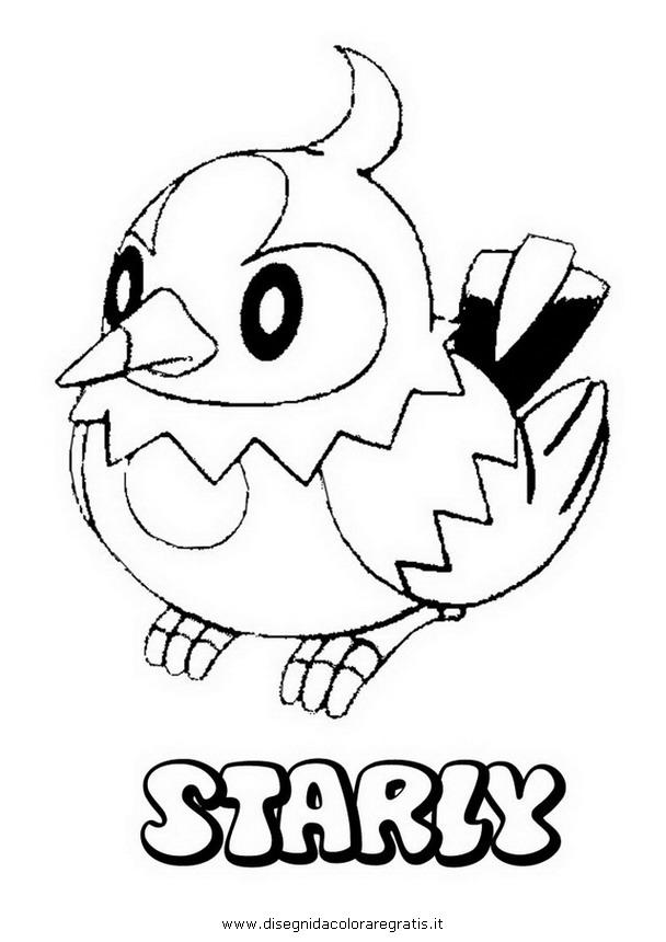 Disegno Pokemon Mienfoo Personaggio Cartone Animato Da
