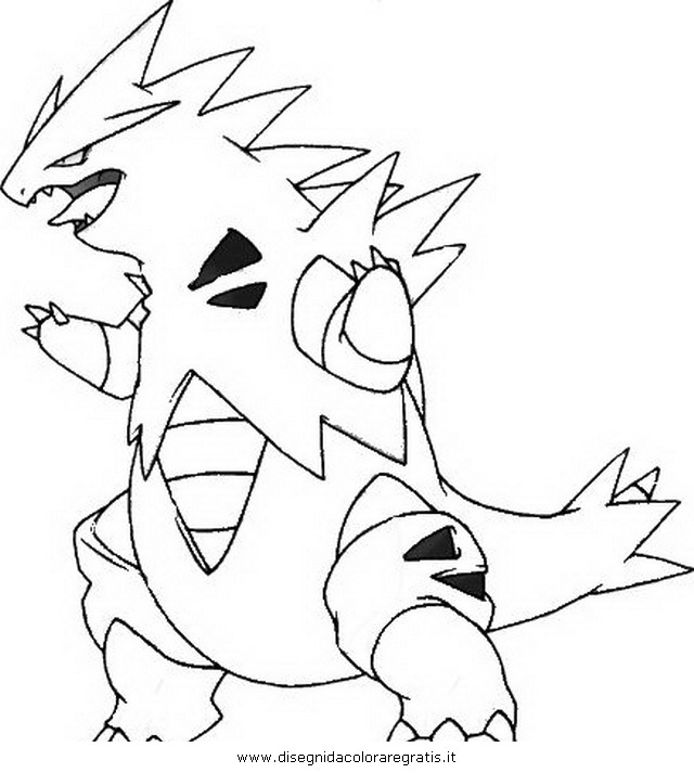 tyranitar coloring pages - photo#21