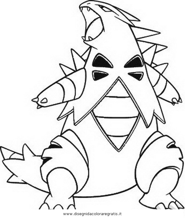 tyranitar coloring pages - photo#4