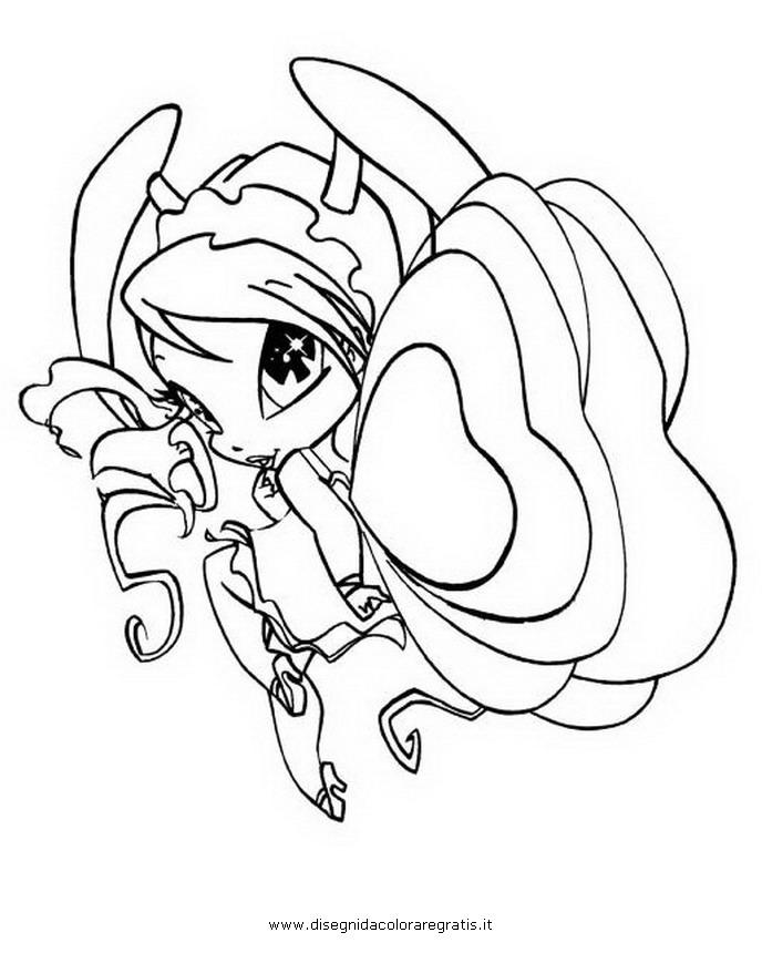 pop pixie coloring pages - disegno pop pixie 14 personaggio cartone animato da colorare