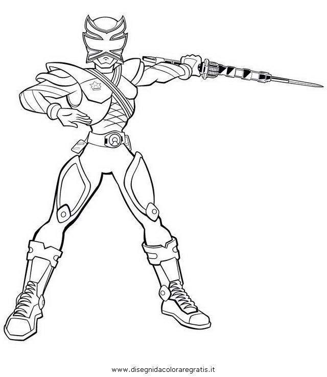 Disegno power rangers super samurai 05 personaggio - Power ranger samurai dessin ...