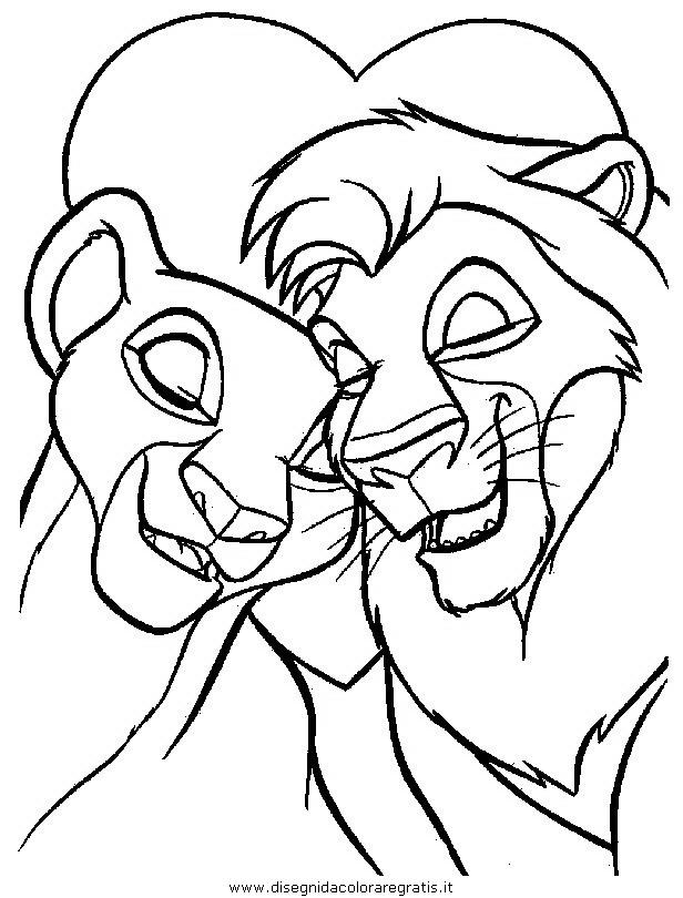 Disegno Releone016 Personaggio Cartone Animato Da Colorare