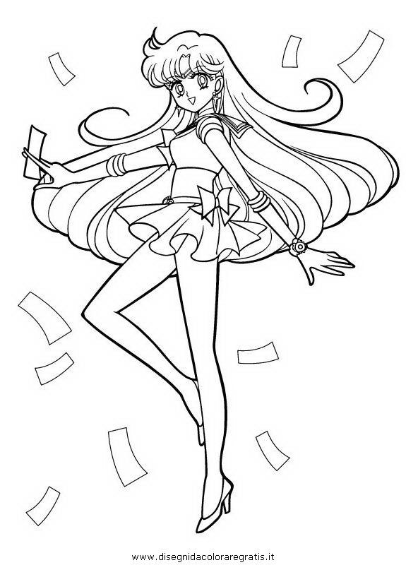 Disegno sailor moon 08 personaggio cartone animato da for Disegni miraculous da colorare