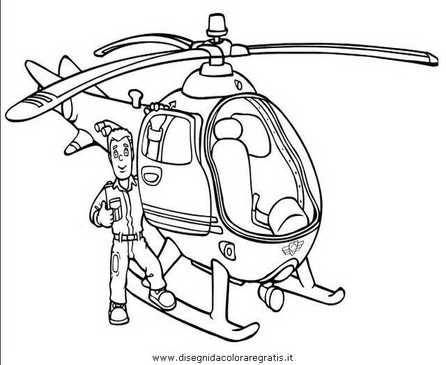 Disegno Sam Pompiere 30 Personaggio Cartone Animato Da Colorare