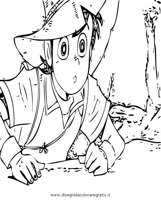 Disegno sampei b personaggio cartone animato da colorare