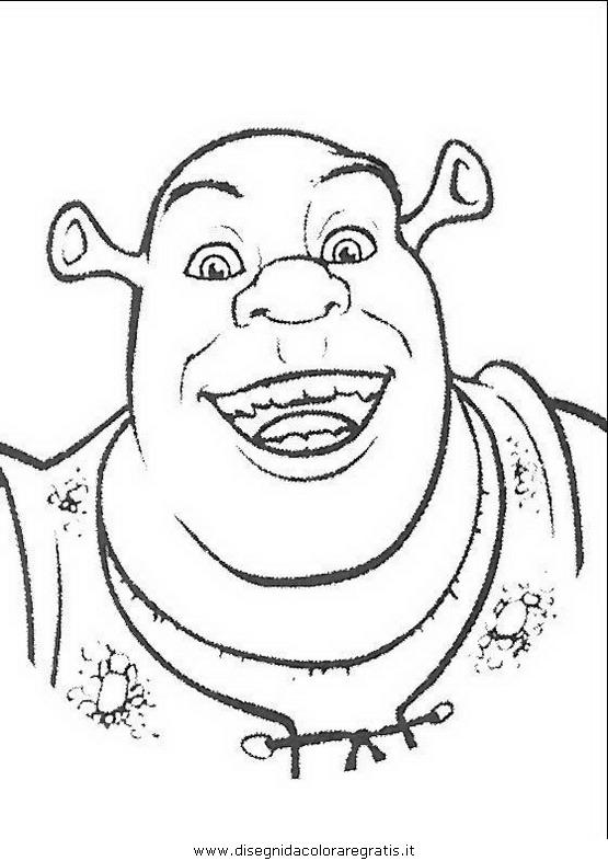 Disegno Shrek17 Personaggio Cartone Animato Da Colorare