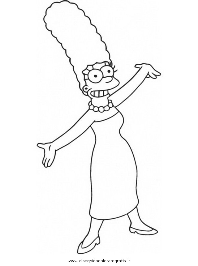 Free S Millhouse Coloring Pages