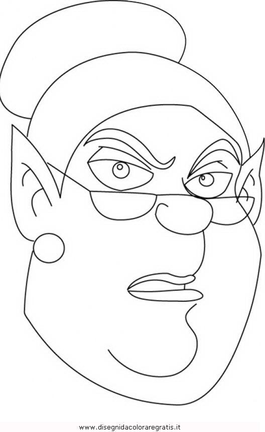 Disegno simsala grimm 24 personaggio cartone animato da - Cartone animato animali da colorare pagine ...