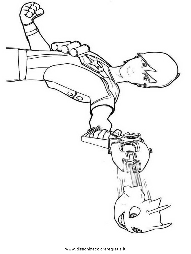 slugterra coloring pages of joules - photo#27