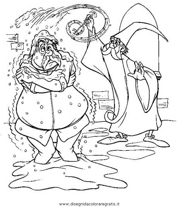 Disegno spada roccia personaggio cartone animato da