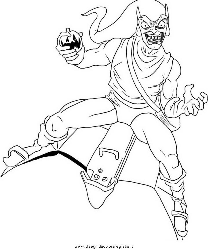 Disegno goblin personaggio cartone animato da colorare
