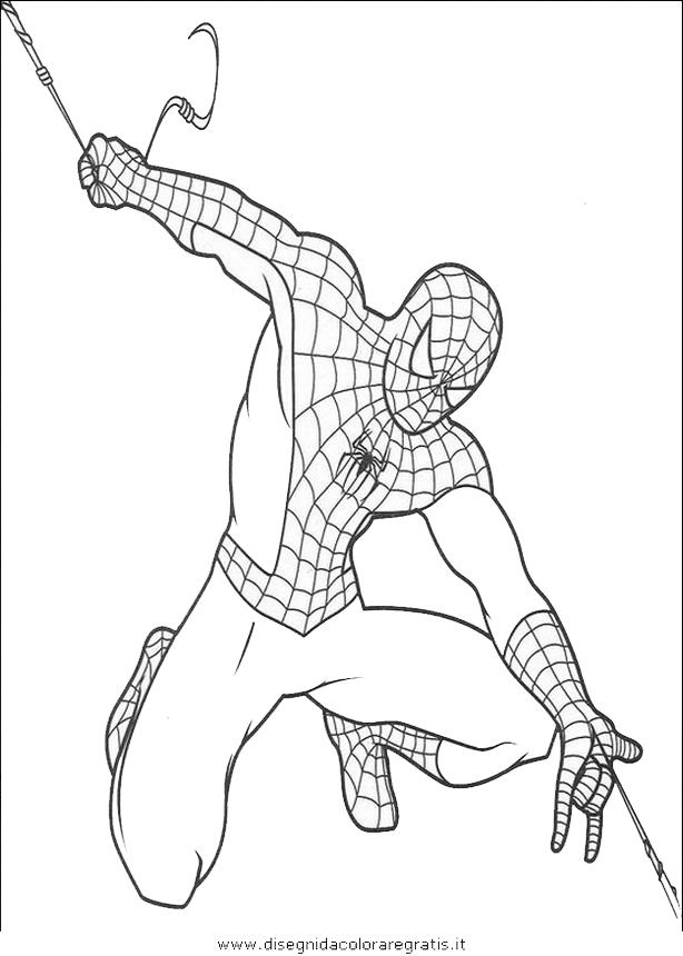 Disegno uomo ragno 22 personaggio cartone animato da colorare for Uomo ragno immagini da colorare