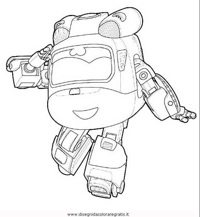 Disegno super wings 06 personaggio cartone animato da for Disegni da colorare super wings