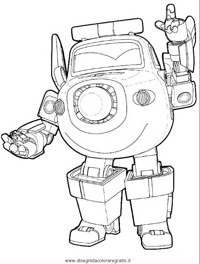 Disegno Super Wings 07 Personaggio Cartone Animato Da Colorare