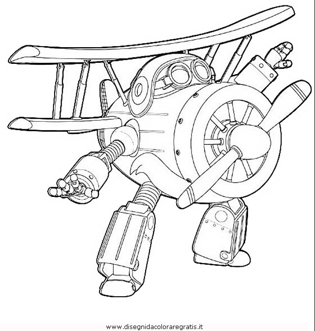 Disegno super wings 08 personaggio cartone animato da for Disegni da colorare super wings