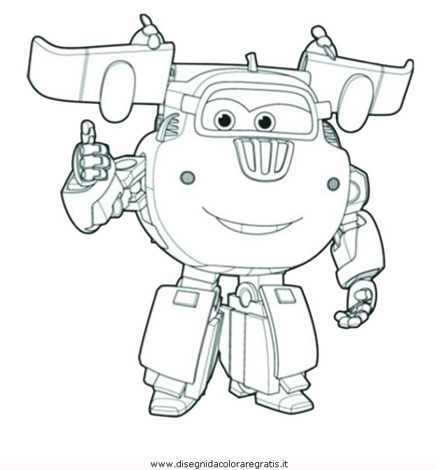 Disegno super wings 10 personaggio cartone animato da for Disegni da colorare super wings
