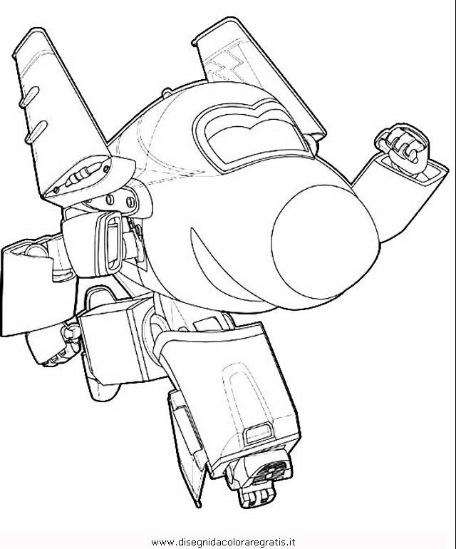 Disegno super wings personaggio cartone animato da
