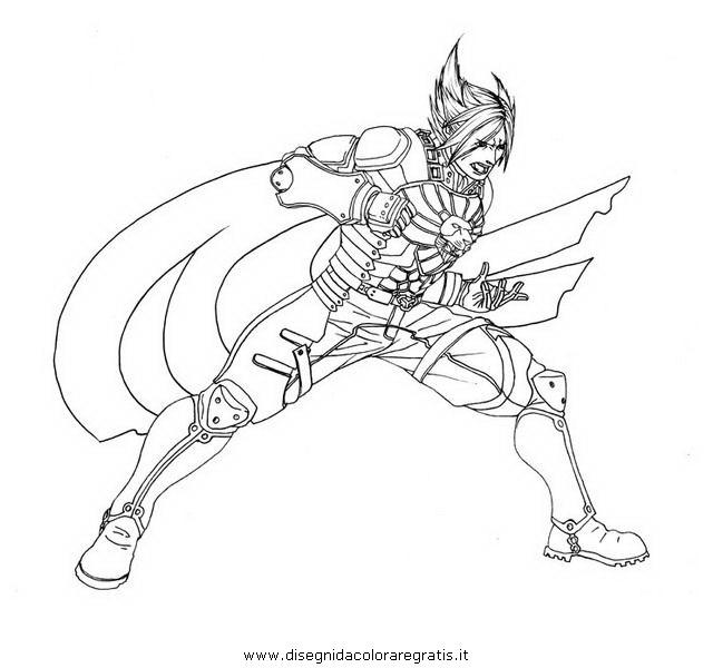 tekken 6 coloring pages - photo#5