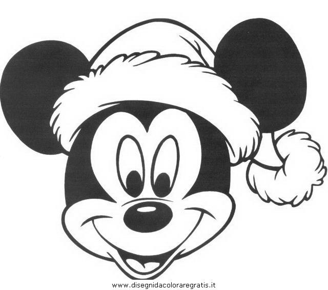 Disegno disney topolino personaggio cartone animato