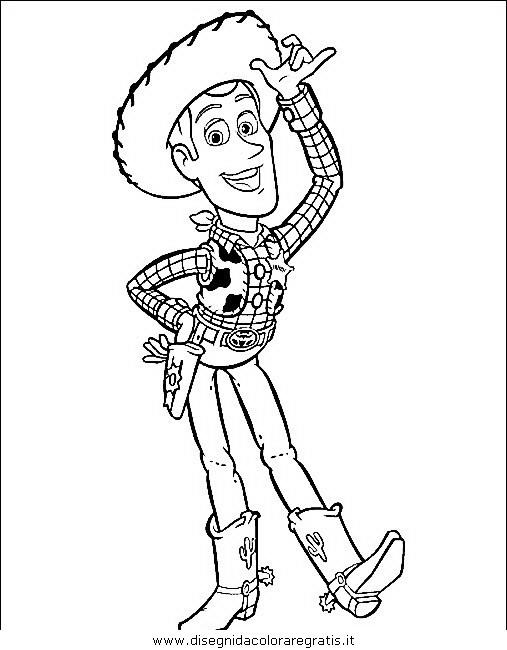Disegno Toy Story 22 Personaggio Cartone Animato Da Colorare