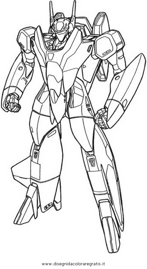 Disegno Tekkaman2 Personaggio Cartone Animato Da Colorare