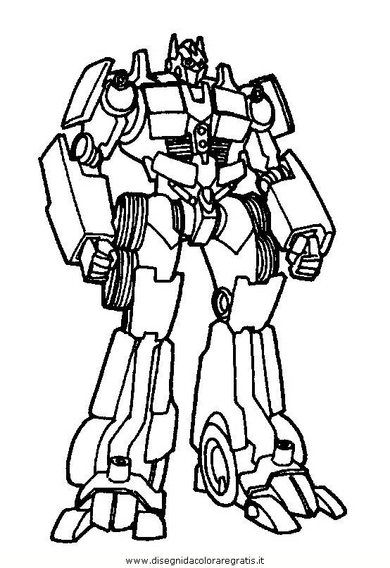 Disegno Tranformers28 Personaggio Cartone Animato Da Colorare