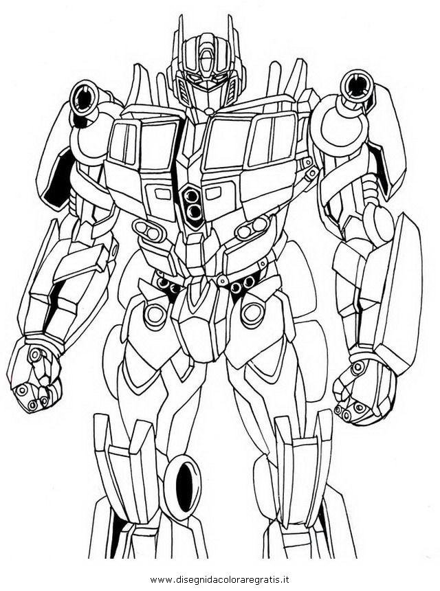 Disegno Transformersoptimusprime02 Personaggio Cartone Animato