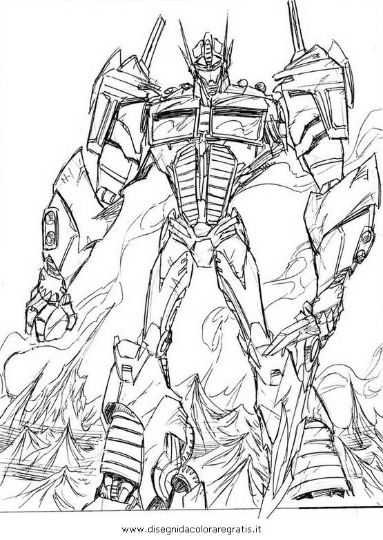 Disegno Transformersoptimusprime05 Personaggio Cartone Animato