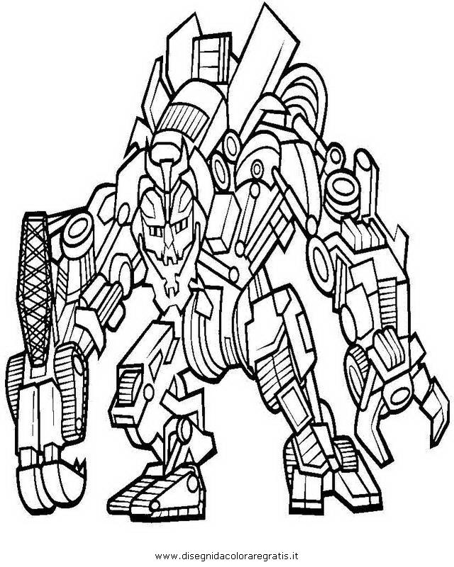 Disegno transformers megatron personaggio cartone