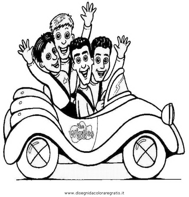 free wiggles coloring pages - photo#26