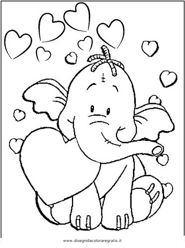 Disegno effy efelante personaggio cartone animato da