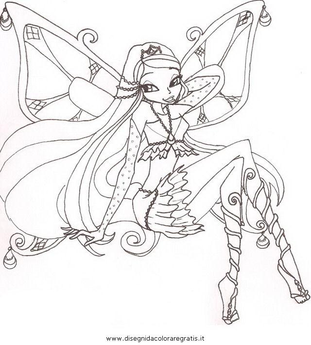 Disegno Enchantix 2 Personaggio Cartone Animato Da Colorare