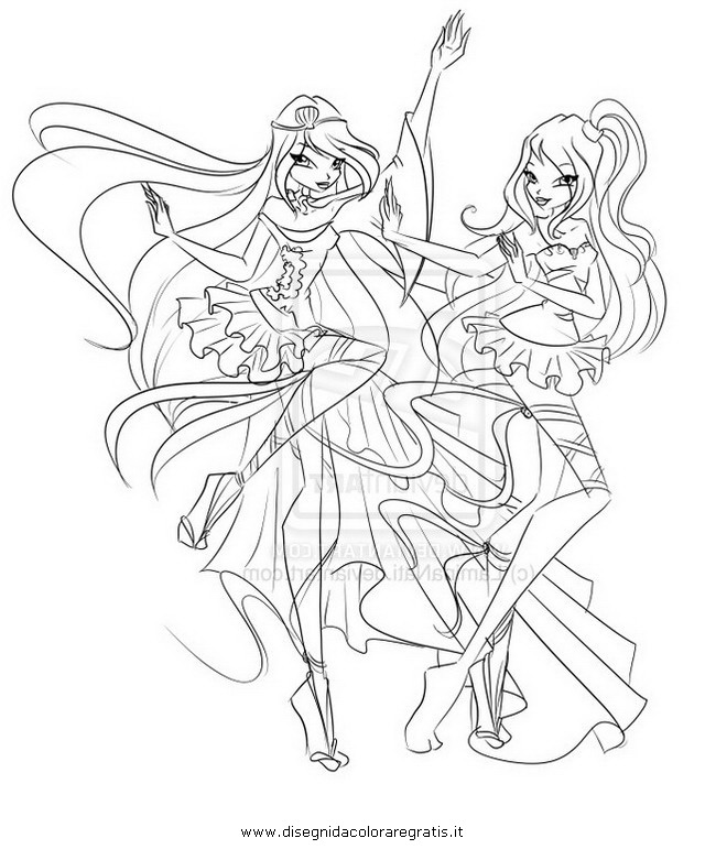 Winx Stella Charmix Coloring Pages Coloring Pages
