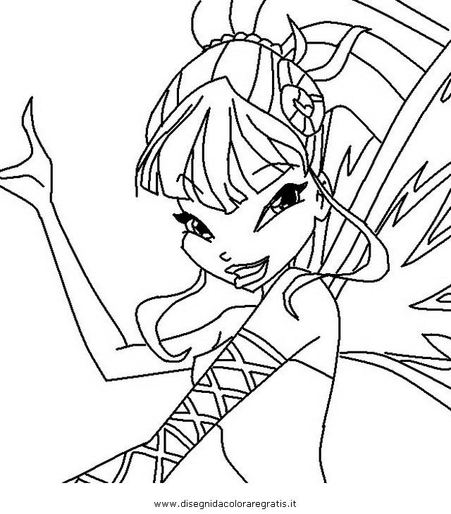 Disegno winx sirenix 10 personaggio cartone animato da for Disegni winx sirenix da colorare