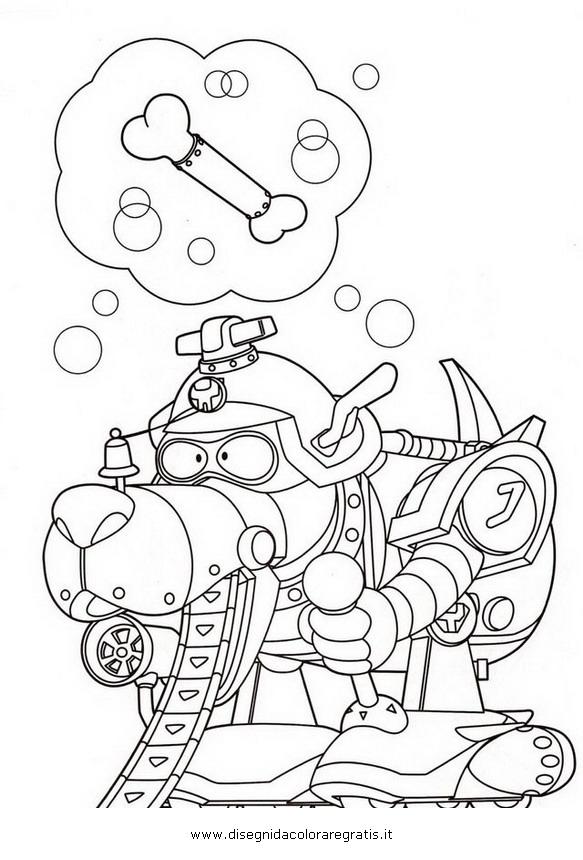 Disegno yattaman personaggio cartone animato da colorare