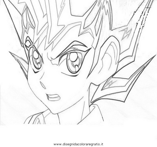 Yu gi oh zexal colouring pages page