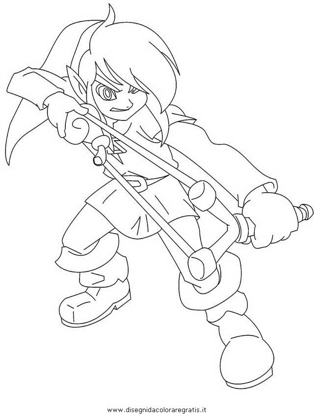 minish cap coloring pages - photo#14