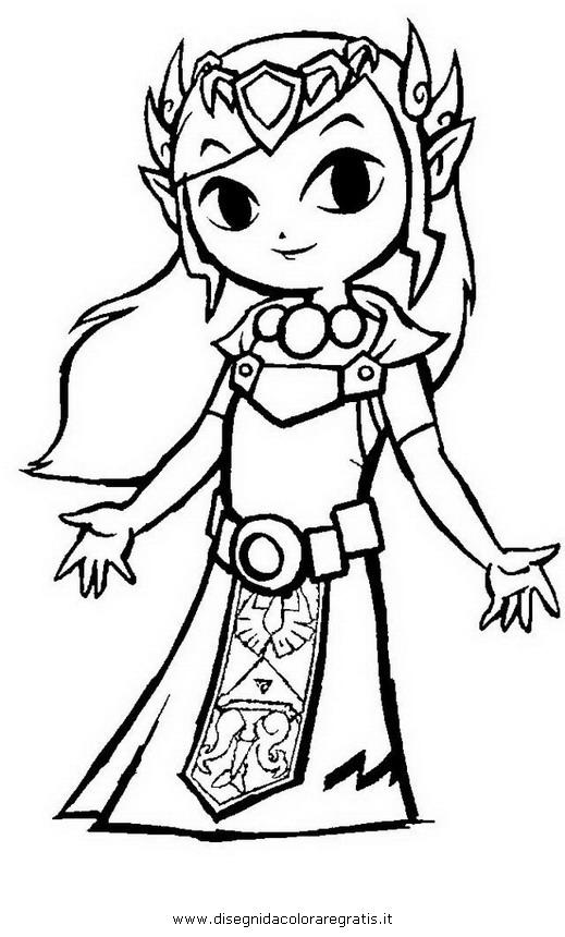 Disegno Zelda 32 Categoria Cartoni Da Colorare