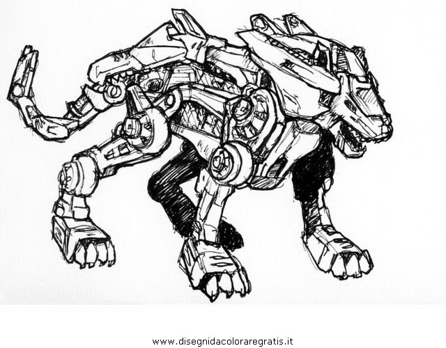 liger coloring pages - photo #48