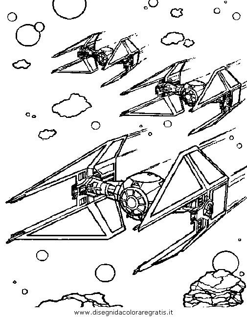 Disegno Star Wars 17 Categoria Fantascienza Da Colorare