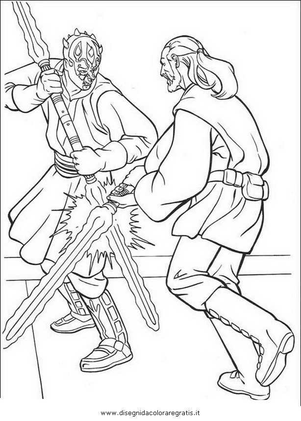 Obi wan coloring pages