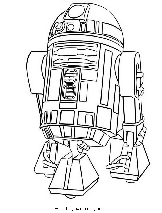 r2 d2 star wars coloring pages - photo #28