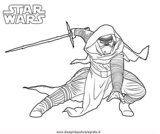 Disegno Star Wars 32 Animali Da Colorare